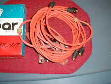 NOS MOPAR 1959-76 BIG BLOCK PLUG WIRES ORANGE