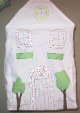 Pottery Barn Kids Pink Hanging Lamp Shade Bird Doll House Pendant Chandelier NIB