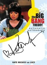 Big Bang Theory  Seasons 6 & 7 AUTOGRAPH CARD KM1 Kate Miccuci as Lucy