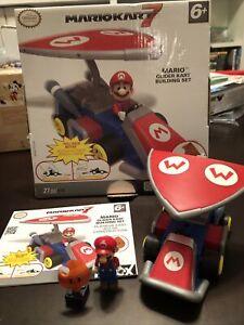 """K'nex Mario Kart 7 """"Mario Glider Kart"""" Building Set 2013 Complete 38569 27 piece"""