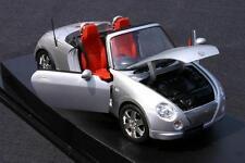## Daihatsu Copen Original DieCast Precision Model 1:18 silver, used MEGA RARE