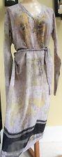 Dries Van Noten...Belgium...100% Silk Floral Dress..!