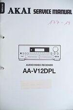 Service Manual für Akai AA-V12 DPL ,ORIGINAL