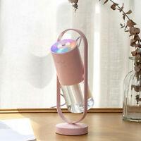 200mL Ultrasonic Aroma Diffuser USB Car Home Air Purifier Humidifier Freshener