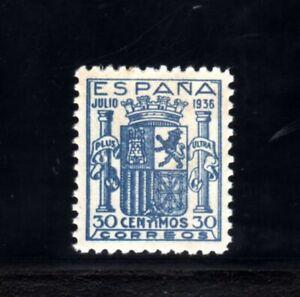 65-ESPAÑA-SPAIN-1936.ESCUDO.Edifil Nº 801.UNUSED-Nuevo.MNH**COPY, fake,FALSO ???
