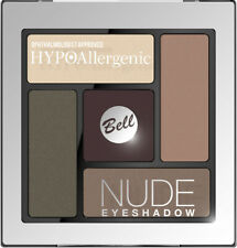 Bell HYPOAllergenic NUDE Eyeshadow Palette SATIN & CREAMY Make Up Kit Set 5g