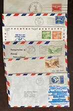 Lot Of 6 Canal Zone FAM First Flight Covers
