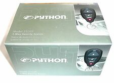 PYTHON 3105P 1-Way Vehicle Car Security System >NEW<