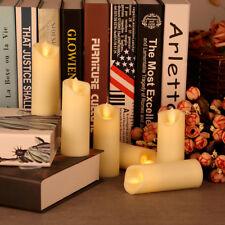 6er Set LED Kerzen Teelichter Flammenlos Flackerkerze 10.2x4CM Warmweiß
