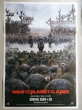 War For The Planet Of The Apes Original Double Sided Us Movie Ds Poster/27X40