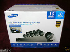 NEW ! Samsung 16 Channel 1080p HD 2TB Security System with 10 Cameras SDH-C75100