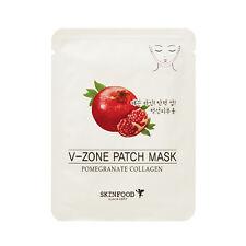 [SKINFOOD] Pomegranate Collagen V-zone Patch Mask - 3pcs