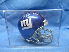 Deuben Droughns  New York Giants Autographed Mini Football Helmet with COA