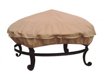 All Seasons Fire Pit Patio Tables Cover UV Waterproof Protection Round 36in