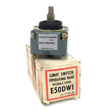 Cabeza de operación Interruptor De Límite E50DW1 Cutler y martillo E50-DW1