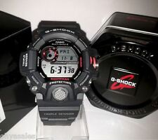 "Casio G-Shock Rangeman ""Master of G"" Stainless Steel Solar Watch 9400 GW9400-1CR"