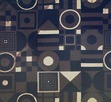 Jab Carlucci Red Funkhouse Black Grey Silver Geometric Raised Velvet Remnant New