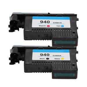 2x Druckkopf kompatibel zu HP 940 C4901A & C4900A OfficeJet Pro 8000 8500 Set