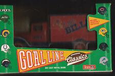 BUFFALO BILLS DIE CAST METAL COIN BANK TRUCK NEW IN BOX TEAM NFL 1993 ERTL