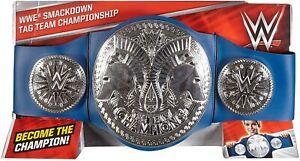 WWE Smackdown Tag Team Championship Ceinture De Mattel (FLB12) Tout Neuf