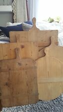 Antique Wooden European Breadboard - Display, Collect - #4 Meduim Rectangle