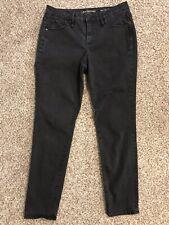 Calvin Klein W31 L32 Curvy Skinny Black Jeans