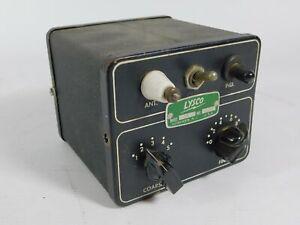 Lysco Vintage Ham Radio Antenna Tuner (untested, looks good)