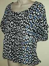Maggie T animal print top Size 0