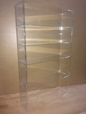"Acrylic Lucite Countertop Display Case ShowCase Box Cabinet 14"" x 4 1/4"" x 24""h"