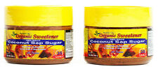 Organic COCONUT SAP SUGAR ManilaCoco Virgin NOSulfite Slow Cook VEGAN 2x250/500g