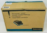 Tektronix Xerox 016-1800-00 Toner Original Cyan Phaser 750