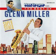 MAX GREGER : PLAYS THE BEST OF GLENN MILLER IN SUPER-STEREO / CD - TOP-ZUSTAND