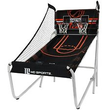 MD Sports 2-Player Arcade Basketball Game, Heavy Duty Fold-Up