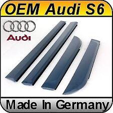 Original Audi A6 / S6 C6 / 4F (04-10) Door Blades Fins SET 4 pcs Genuine OEM