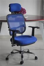 Sedie da ufficio blu