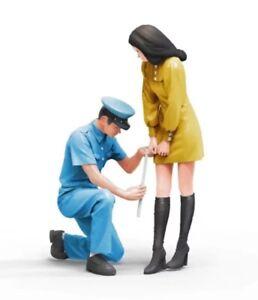 1/24 Resin Figure Model Kit Modern People Tokyo Citizens Unpainted Unassambled