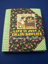 New Vtg 1993 Mary Engelbreit Life is Just Chair of Bowlies Mini Gift Book Hc/ Dj