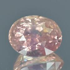 5.55 cts GRS CERTIFIED Orangy Pink Padparadscha Ceylon Unheated Sapphire