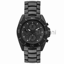 Michael Kors Original MK8517 Men's Jet Master Black Ion Plated Stainless Watch