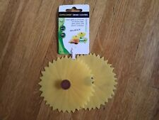 Sunflower Drink Covers, #1105, NEW Charles Viancin