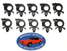 "GM GMC 1/2"" ID 19/32"" OD Engine Wiring Harness Loom Routing Clamp Clips 10pcs SU"
