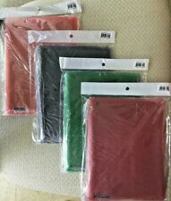 """Lot of 4 Soft Gel Silicone Back Case Cover Skin 9.7"""" Apple iPad 2/3/4 - Colors"""