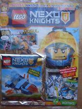 LEGO NEXO KNIGHTS Magazine 10/2017 + CLAY'S FALCON  Limited Edition Mini Figure