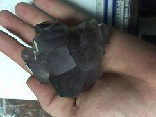 Gemmy Skeletal Quartz Smokey Amethyst Crystal Cluster Reel Mine NC