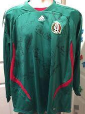 Addias Climacool Mexico 2007 Tricolor Jersey Manga Larga Con Firmas Original XL