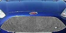 Zunsport Argento Superiore Mascherina per Ford Fiesta st Mk 7.5 2013- Zfr55213
