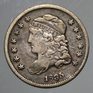 1835 Capped Bust Half Dime - Fine !!