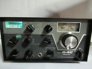 Vintage Drake R4C Ham Communications Receiver IN ORIGINAL BOX Serial 20268