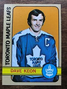 1972/73 Topps Hockey Card #88 Dave Keon Toronto Maple Leafs NM HOF