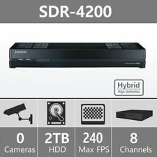 Samsung SDR-4200 8 Ch Hybrid Security DVR - H.264 HDD 2 TB SDR-4200N SDC-8340